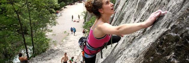 paklenica climbing